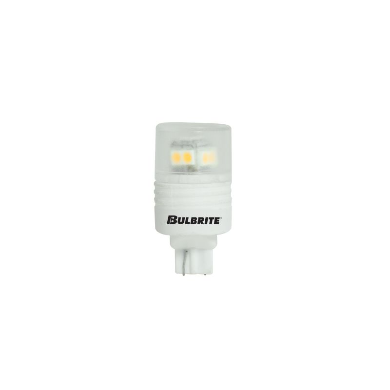 Bulbrite 770522 Pack of (2) 2.5 Watt Soft White Non-Dimmable T3 Shaped