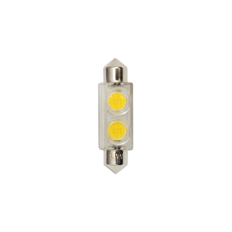 Bulbrite 770530 Pack of (2) 0.8 Watt (3 Watt Replacement) Clear T3