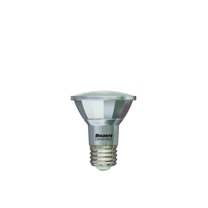 Bulbrite 772715 Pack of (5) - Par 7 Watt Dimmable PAR20 Shaped Medium