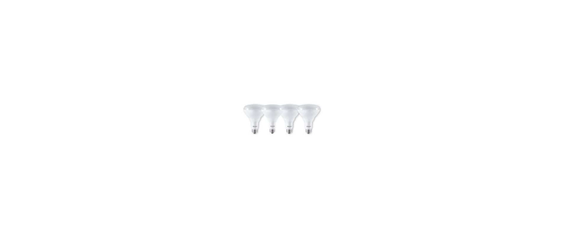 Bulbrite 773350 Pack of (4) - Reflector 9 Watt Dimmable BR30 Shaped