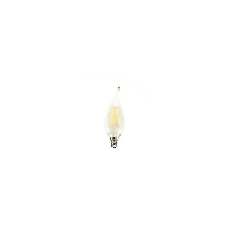 Bulbrite 776566 Pack of (5) - Flame Tip 2 Watt Dimmable CA10 Shaped