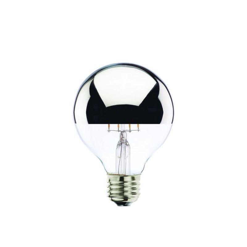 Bulbrite 776570 Pack of (5) - Globe 4 Watt Dimmable G25 Shaped Medium