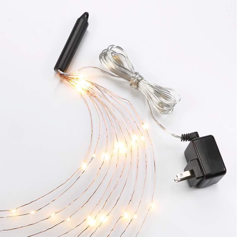 Bulbrite 810066 10´ LED Plug-In Indoor Multi-Strand String Lights from