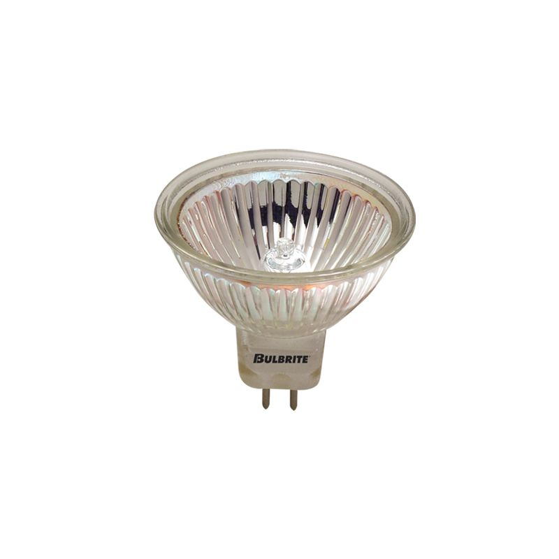 Bulbrite 860123 Pack of (10) 50 Watt Dimmable MR16 Shaped GU5.3 Base