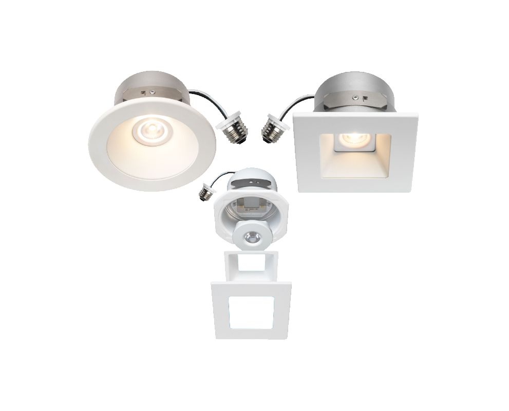 Bulbrite 775590 ELEVA Configurable LED Magnetic Recessed Retrofit Kit
