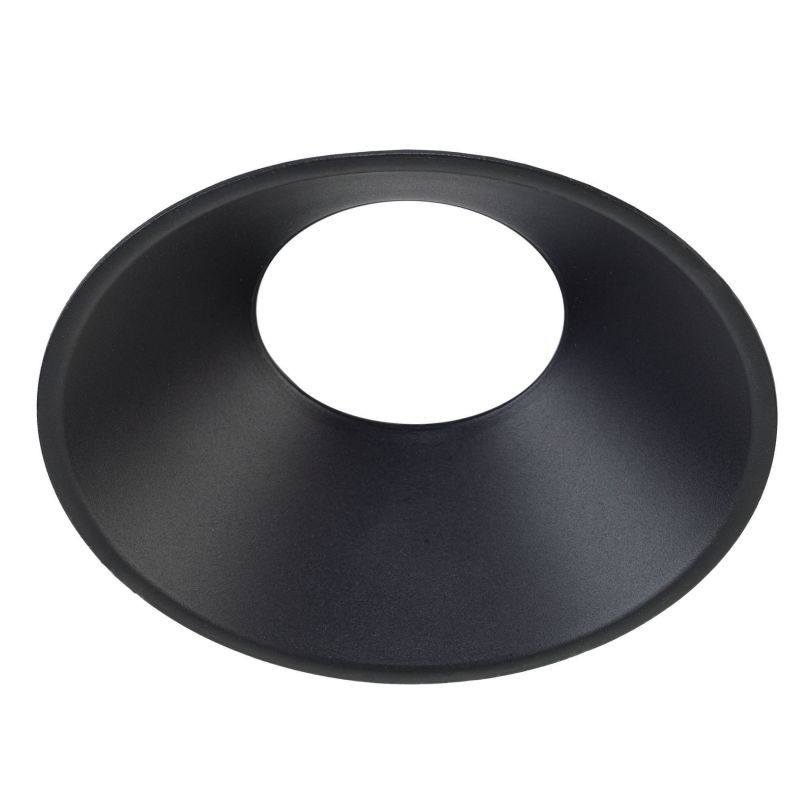Bulbrite 775721 ELEVA Magnetic Retrofit Round Reflector Trim Black