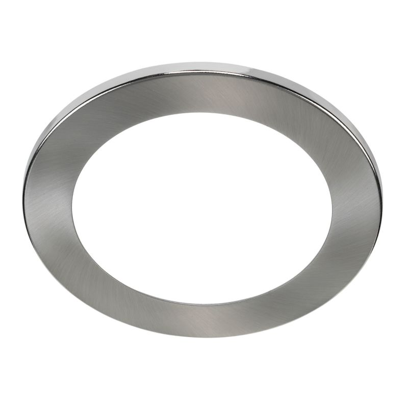 Bulbrite 775704 ELEVA Magnetic Retrofit Round Trim Brushed Nickel