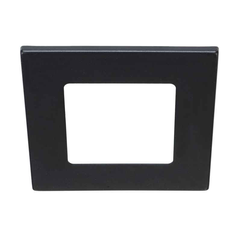 Bulbrite 775706 ELEVA Magnetic Retrofit Square Trim Black Recessed