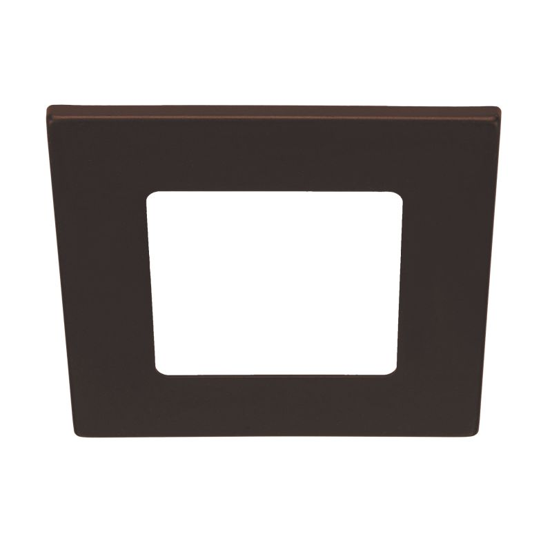 Bulbrite 775707 ELEVA Magnetic Retrofit Square Trim Bronze Recessed