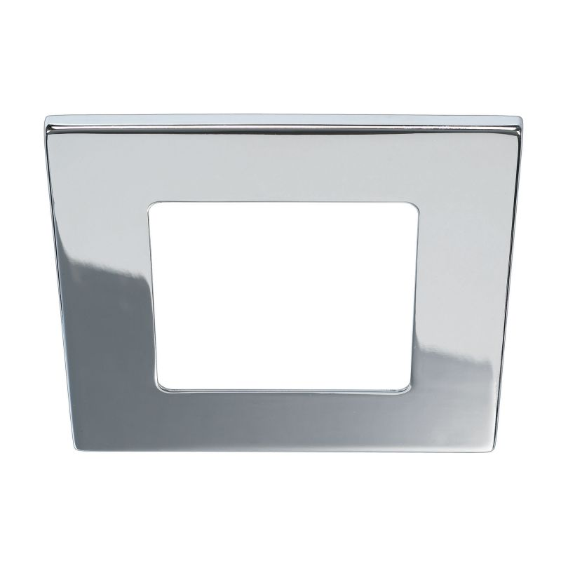 Bulbrite 775708 ELEVA Magnetic Retrofit Square Trim Chrome Recessed