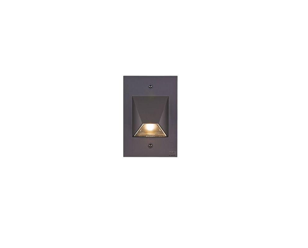 csl lighting ss3003 bz bronze 4 5 wide vertical rectangular led step