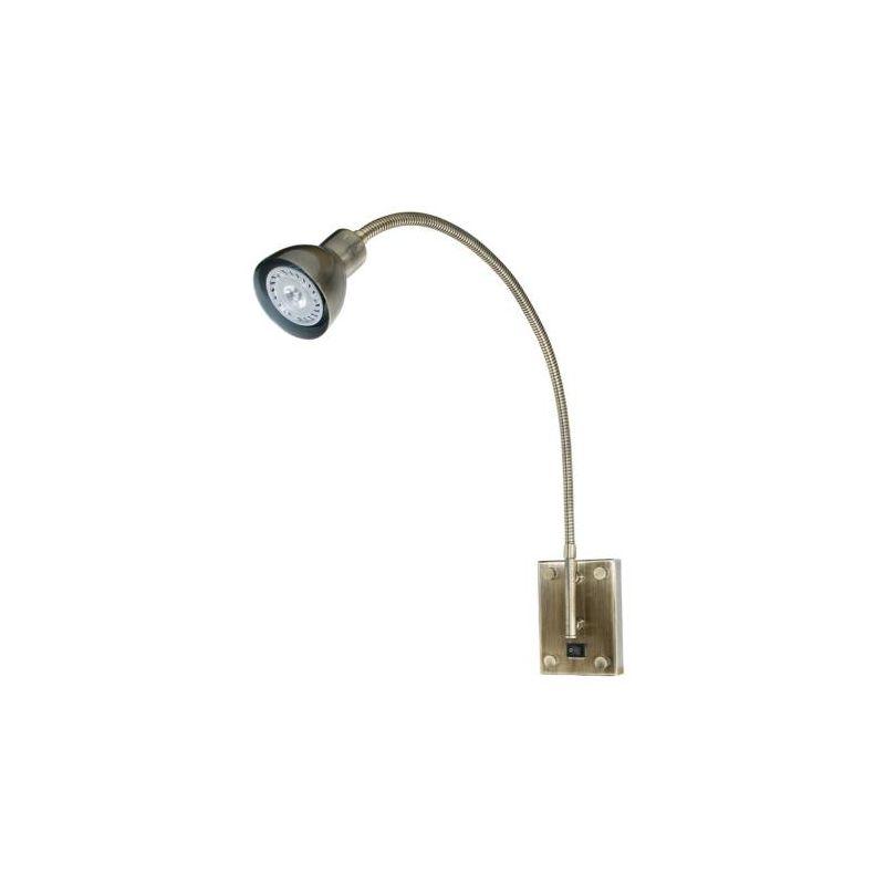 Cal Lighting BO-119 3 Watt Metal LED Gooseneck Reading Light with Sale $139.20 ITEM: bci889130 ID#:BO-119-AB UPC: 20193057148 :