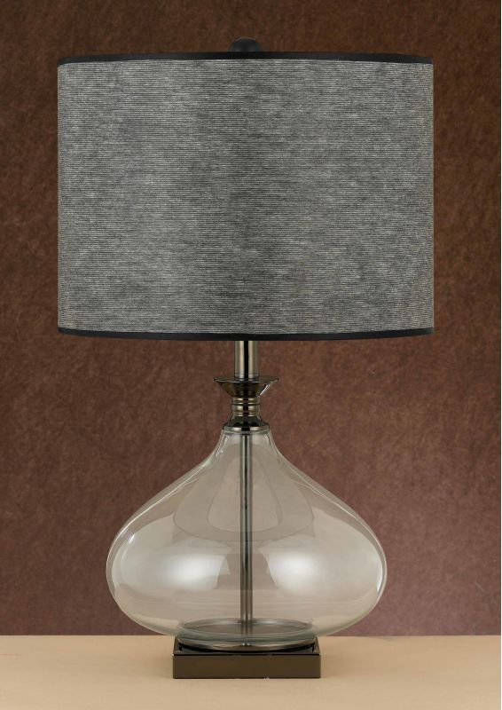Cal Lighting BO-2071TB 1 Light Pedestal Base Table Lamp Glassy Lamps Sale $162.80 ITEM: bci2379628 ID#:BO-2071TB UPC: 20193064887 :