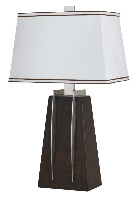 Cal Lighting BO-2102TB Pyramid 1 Light Pedestal Base Table Lamp Black Sale $225.20 ITEM: bci2379656 ID#:BO-2102TB UPC: 20193066713 :