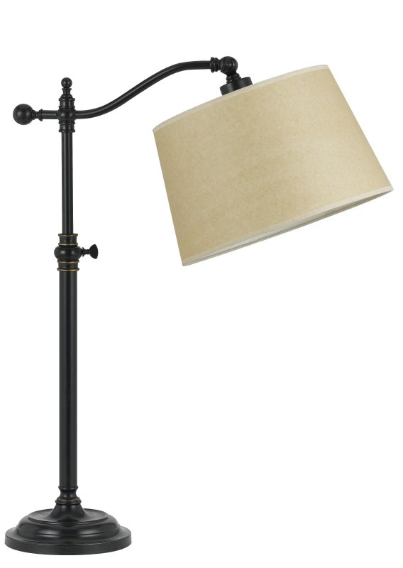 Cal Lighting BO-2205TB Wilmington 1 Light Boom Arm Table Lamp Dark Sale $155.60 ITEM: bci2379671 ID#:BO-2205TB-DB UPC: 20193106884 :