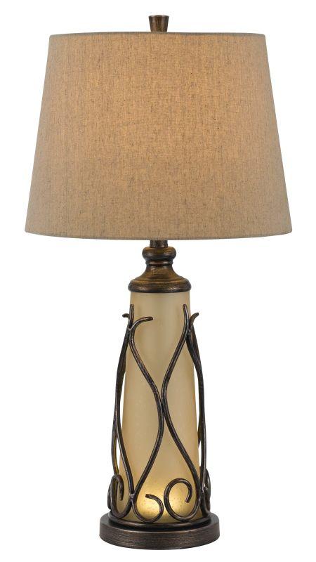 Cal Lighting BO-2348TB Taylor 1 Light Pedestal Base Table Lamp Dark Sale $215.10 ITEM: bci2379723 ID#:BO-2348TB UPC: 20193132944 :