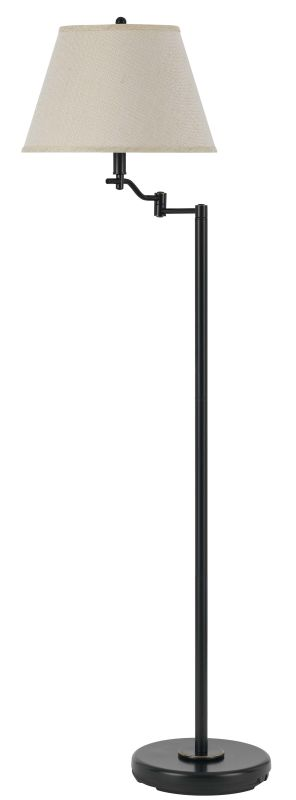 Cal Lighting BO-2350FL Dana 1 Light Pedestal Base Swing Arm Floor Lamp Sale $146.70 ITEM: bci2379725 ID#:BO-2350FL-DB UPC: 20193132999 :