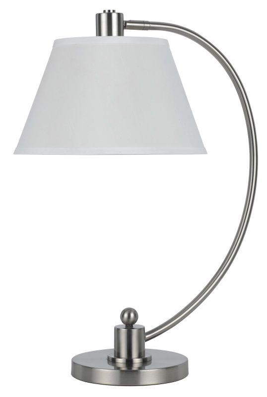 Cal Lighting BO-2449TB 60W Kinder Metal Arc Table Lamp Brushed Steel Sale $139.20 ITEM: bci2235527 ID#:BO-2449TB-BS UPC: 20193135327 :