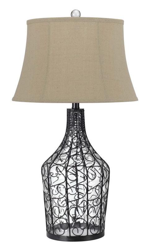 Cal Lighting BO-2458TB 150W 3 Way Palestine Glass Table Lamp Wicker Sale $232.80 ITEM: bci2235545 ID#:BO-2458TB UPC: 20193137314 :