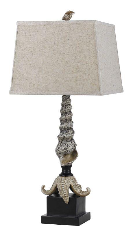 Cal Lighting BO-2481TB Coral 1 Light Pedestal Base Table Lamp Black Sale $174.90 ITEM: bci2379815 ID#:BO-2481TB UPC: 20193141052 :