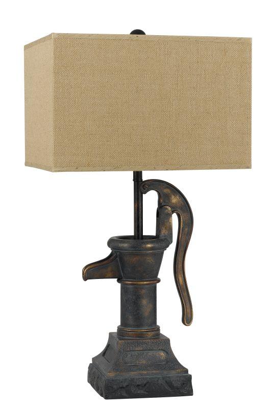 Cal Lighting BO-2560TB 1 Light Pedestal Base Table Lamp Dark Bronze Sale $199.90 ITEM: bci2379824 ID#:BO-2560TB UPC: 20193152133 :