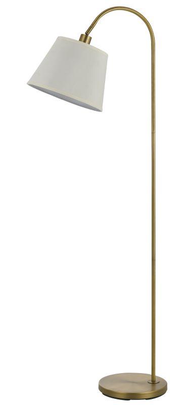 Cal Lighting BO-2573FL Covington 1 Light Pedestal Base Gooseneck Floor