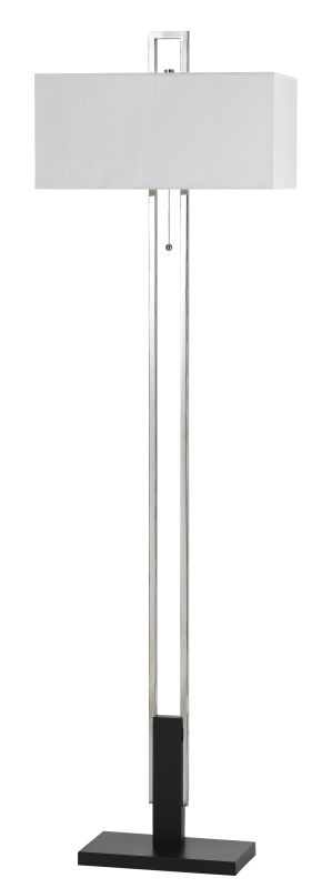 Cal Lighting BO-2579FL Foggia 2 Light Pedestal Base Floor Lamp Chrome Sale $206.80 ITEM: bci2379849 ID#:BO-2579FL UPC: 20193152492 :