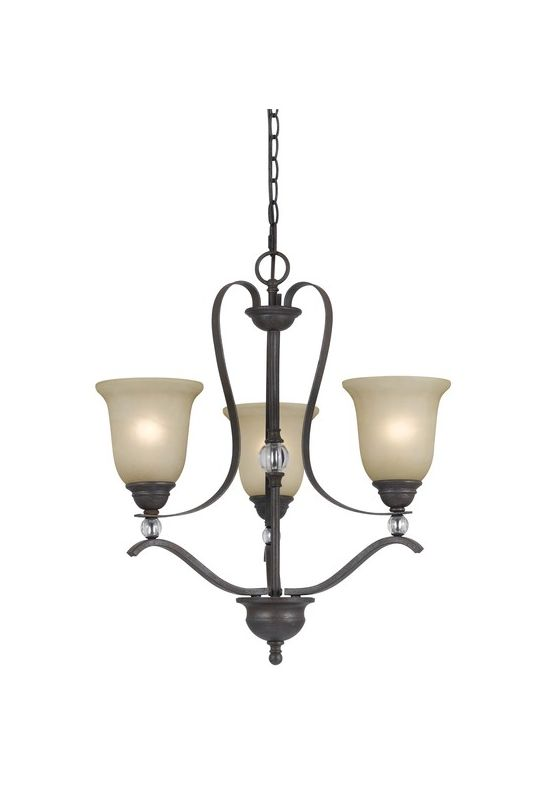 Cal Lighting FX-3530/3 Riverton 3 Light 1 Tier Chandelier Dark Bronze Sale $302.30 ITEM: bci2388282 ID#:FX-3530/3 UPC: 20193131145 :