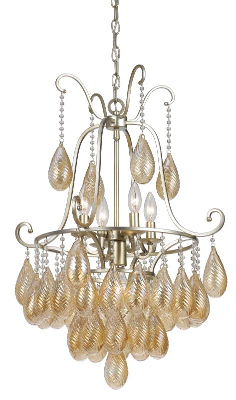 Cal Lighting FX-3591-5 Marion 5 Light Chandelier Warm Silver Indoor Sale $445.30 ITEM: bci2620707 ID#:FX-3591-5 UPC: 20193157749 :