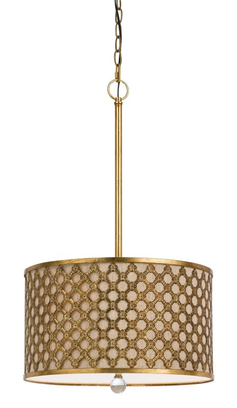 Cal Lighting FX-3597-1P Fairview 3 Light Chandelier French Gold Indoor Sale $268.20 ITEM: bci2620715 ID#:FX-3597-1P UPC: 20193157824 :