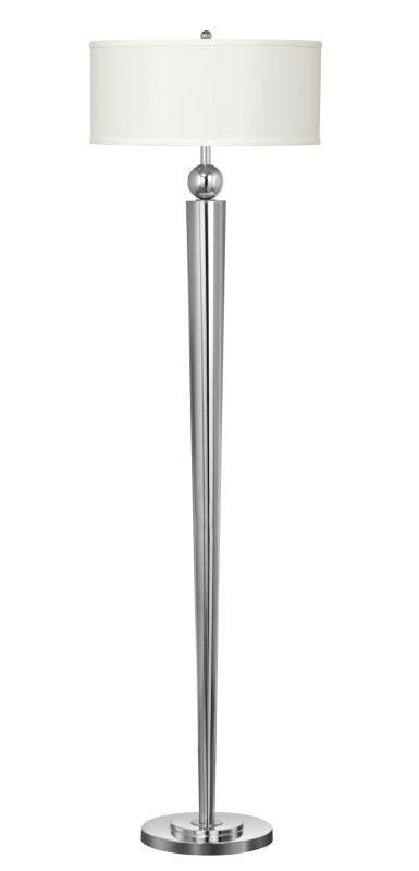 Cal Lighting LA-2007FL-1 Messina 1 Light Floor Lamps Chrome Lamps