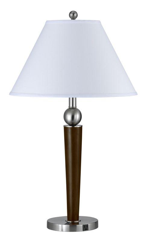 Cal Lighting LA-8005NS-1R Hotel 1 Light Table Lamps Brushed Steel / Sale $149.30 ITEM: bci2427303 ID#:LA-8005NS-1RBS UPC: 20193136904 :