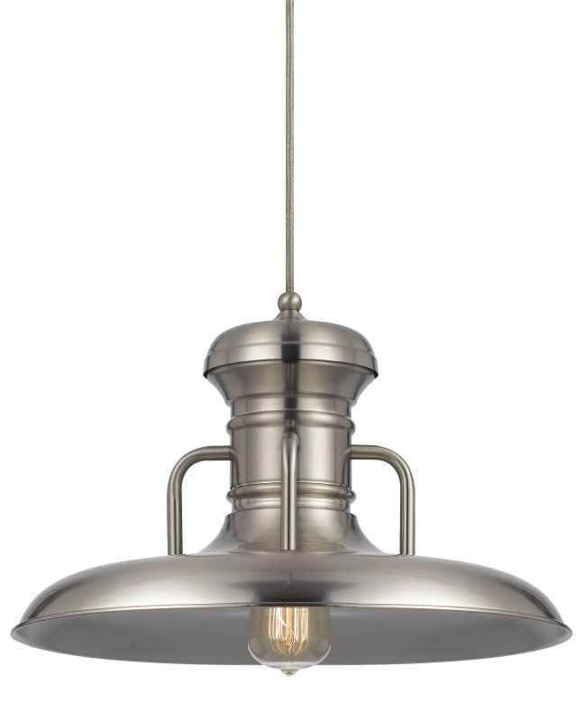 Cal Lighting UP-1110-6 Winterset 1 Light Pendant - Canopy Included Sale $164.50 ITEM: bci2620723 ID#:UP-1110-6-BS UPC: 20193157909 :