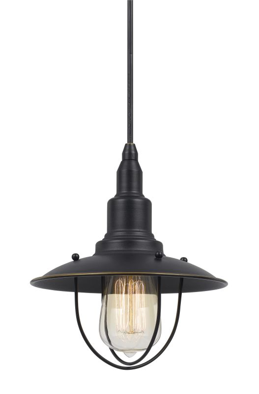 Cal Lighting UP-1113-6 Allentown 1 Light Pendant - Canopy Included