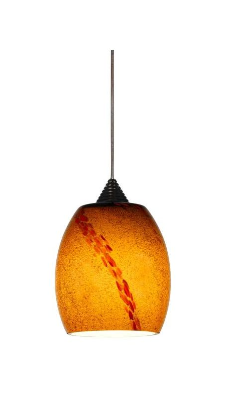 Cal Lighting UPL-705/18 1 Light Mini LED Pendant Rust Indoor Lighting Sale $225.20 ITEM: bci2388373 ID#:UPL-705/18-RU UPC: 20193105139 :