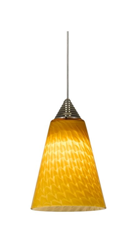 Cal Lighting UPL-706/10 1 Light Mini LED Pendant Rust Indoor Lighting