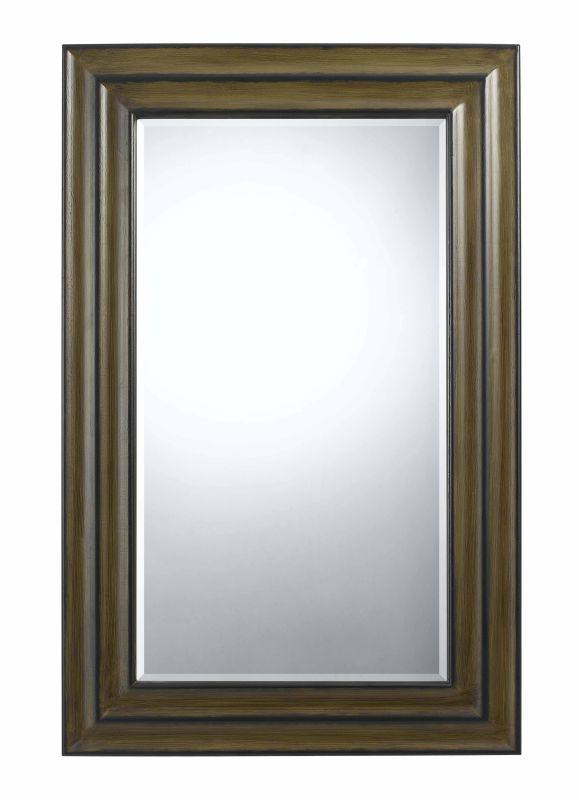 Cal Lighting WA-2174MIR Channing Rectangle Beveled Mirror Walnut Home Sale $392.20 ITEM: bci2427336 ID#:WA-2174MIR UPC: 20193131381 :
