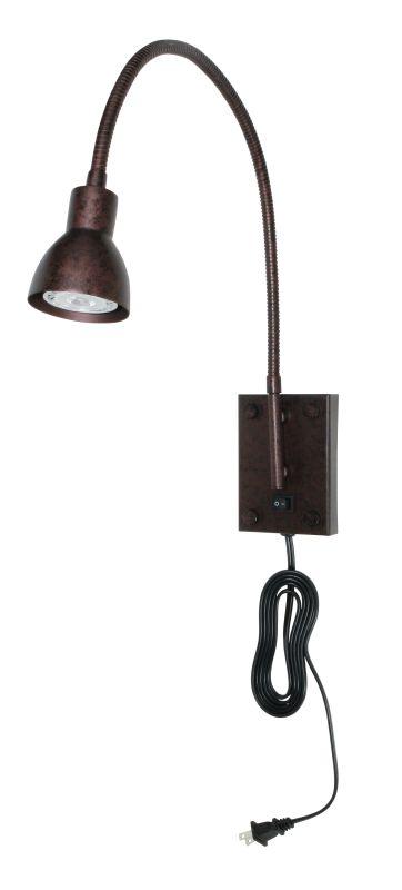 Cal Lighting BO-119 3 Watt Metal LED Gooseneck Reading Light with Sale $139.20 ITEM: bci889128 ID#:BO-119-RU UPC: 20193057131 :