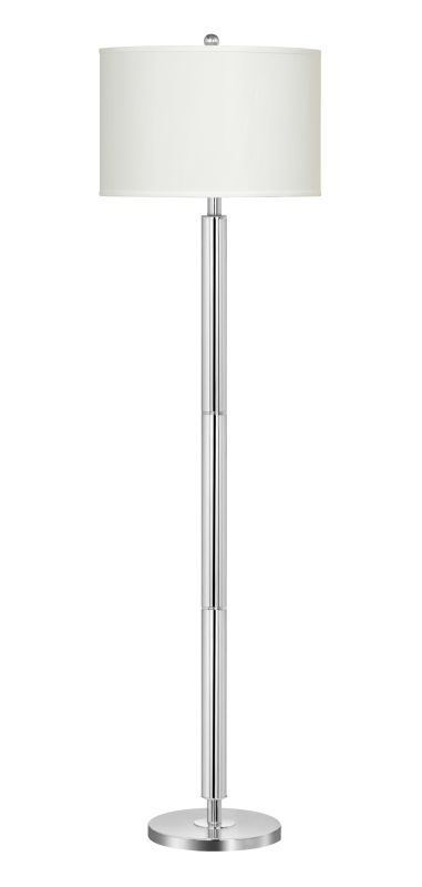 "Cal Lighting BO-2004FL 150 Watt 59.75"" Metal Floor Lamp with 3-Way"