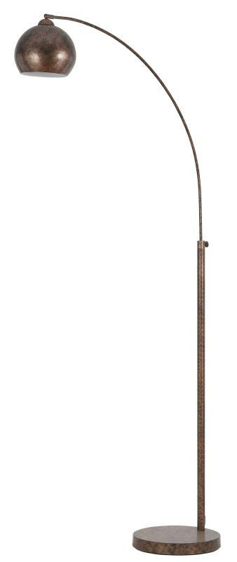 Cal Lighting BO-2030-1L Single Light 100 Watt Arc Floor Lamp with Sale $301.10 ITEM: bci1653306 ID#:BO-2030-1L-RU UPC: 20193102619 :