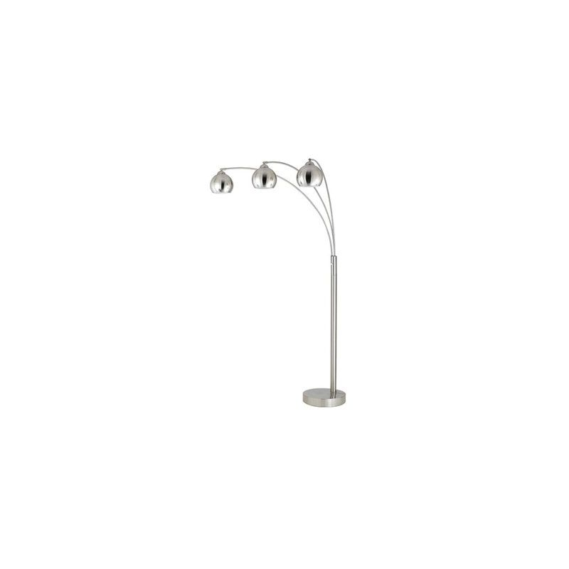 Cal Lighting BO-2030-3L Three Light 60 Watt Metal Arc Floor Lamp with