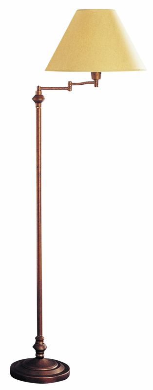 "Cal Lighting BO-314 150 Watt 59"" Metal Swingarm Floor Lamp with 3-Way"