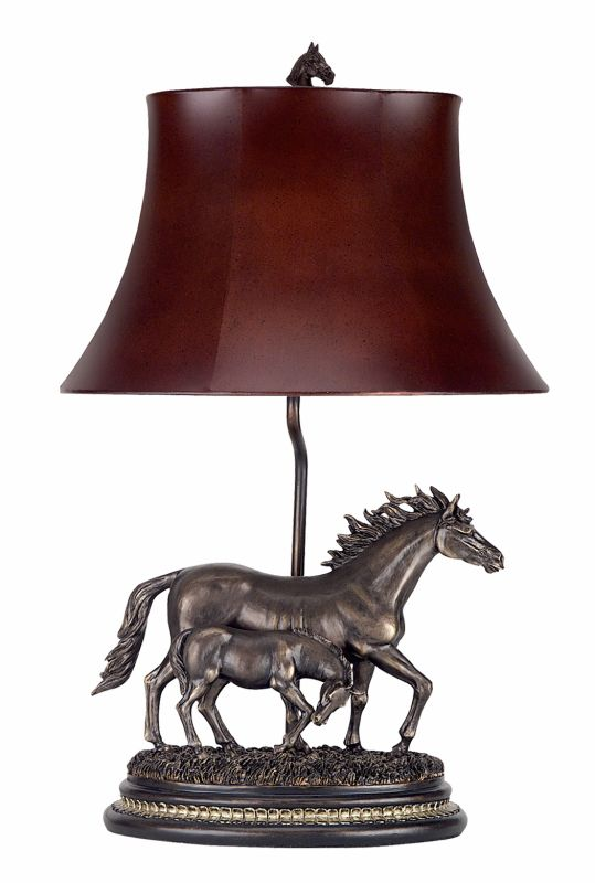 "Cal Lighting BO-517 100 Watt 26.5"" Traditional / Classic Resin Mare"