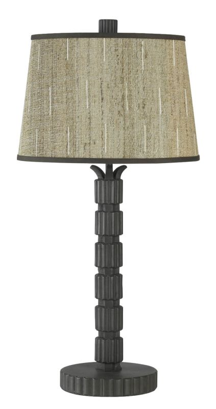 "Cal Lighting BO-546 150 Watt 30"" Resin Table Lamp with 3-Way Switch"