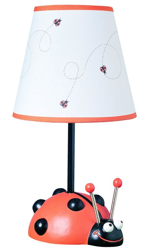 Cal Lighting BO-5640 60W Lady Bug Lamp Red / Black Lamps Accent Lamps