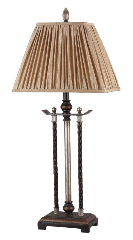 "Cal Lighting BO-689 150 Watt 33.25"" Traditional / Classic Iron/Resin"