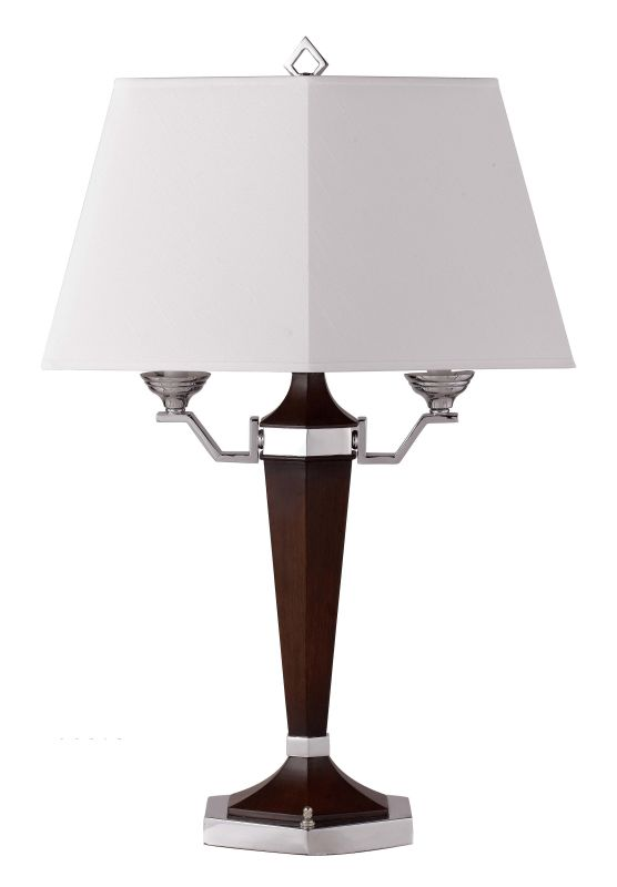 "Cal Lighting BO-694 120 Watt 28.5"" Resin/Metal Table Lamp with On/Off"