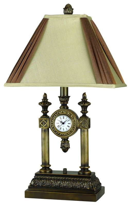 "Cal Lighting BO-909 100 Watt 29"" Traditional / Classic Resin Table"