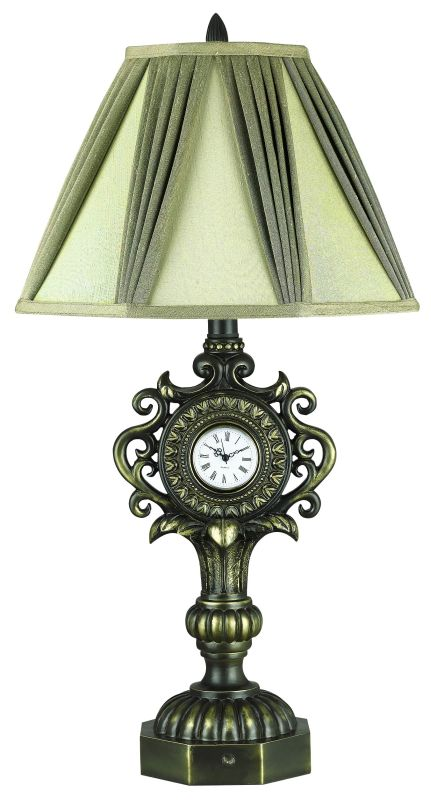 "Cal Lighting BO-910 100 Watt 31.5"" Traditional / Classic Resin Table"