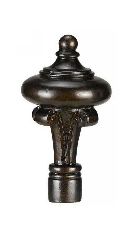 "Cal Lighting FA-5013 3.875"" Traditional / Classic Resin Tall Knob"